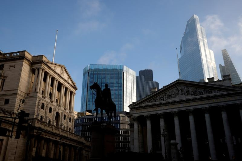 UK public's inflation outlook holds at 4-year low