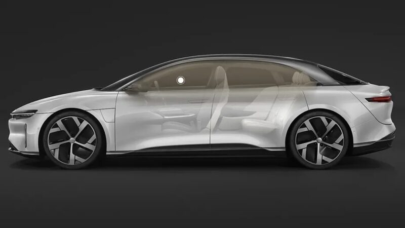 Lucid's upcoming electric car will be the first to feature Dolby Atmos